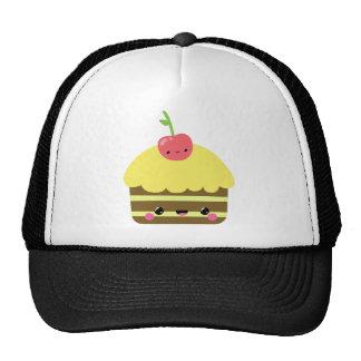 Cute Kawaii Chocolate Lemon Cake Trucker Hat