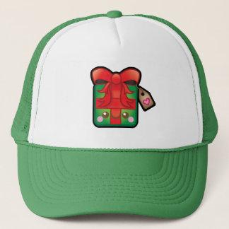 Cute Kawaii Christmas Present Trucker Hat