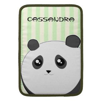 Cute Kawaii chubby panda bear MacBook Sleeve