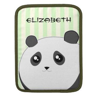 Cute Kawaii chubby panda bear Sleeve For iPads