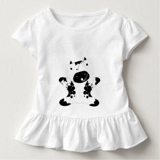 Cute Kawaii Cow - Customized Toddler T-shirt