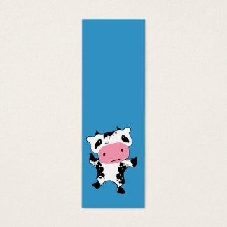 Cute Kawaii Cow Mini Business Card