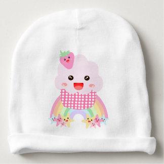 Cute kawaii cupcake baby beanie