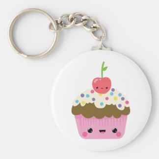 Cute Kawaii Cupcake Keychain