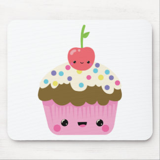 Cute Kawaii Cupcake Mouse Pad