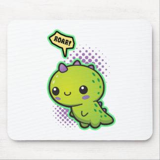Cute Kawaii Dinosaur Mouse Pad