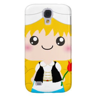 Cute / Kawaii Dutch Squeable girl from Holland Samsung S4 Case