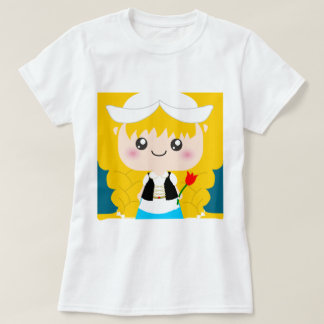 Cute / Kawaii Dutch Squeable girl from Holland Tee Shirt