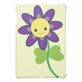 CUTE Kawaii  FLOWER Character iPad Mini Covers