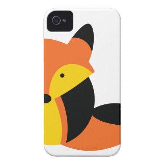 Cute KAWAII fox iPhone 4 Case