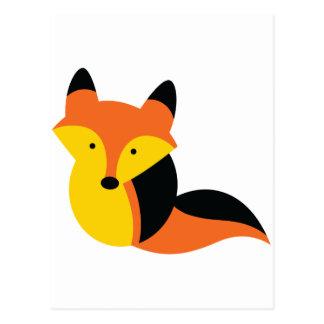 Cute KAWAII fox Postcard
