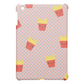cute kawaii french fries pern iPad mini cover