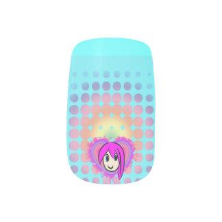 Cute Kawaii Girl Anime Minx Minx ® Nail Wraps