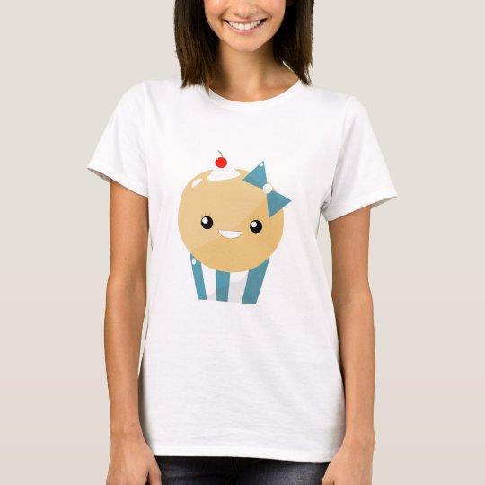 Cute Kawaii Girly Muffin Cupcake T-Shirt