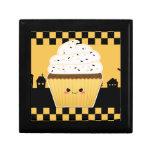 Cute Kawaii Halloween cupcake Gift Boxes