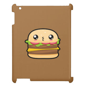 Cute Kawaii Hamburger iPad Case