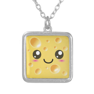 Cute Kawaii Happy Cheese Pendant