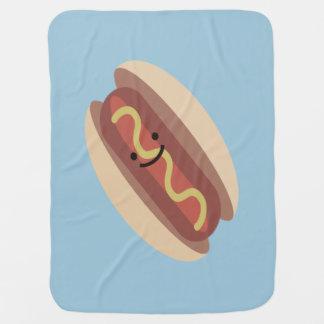Cute Kawaii Hot Dog Swaddle Blanket