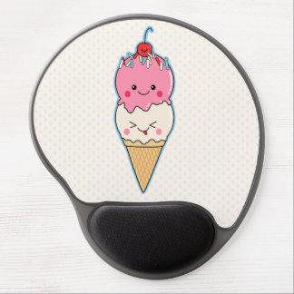 Cute Kawaii Ice Cream Gel Mouse Pad