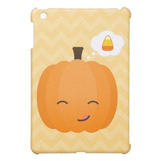 Cute Kawaii Jack o'Lantern and Candy Corn Cover For The iPad Mini