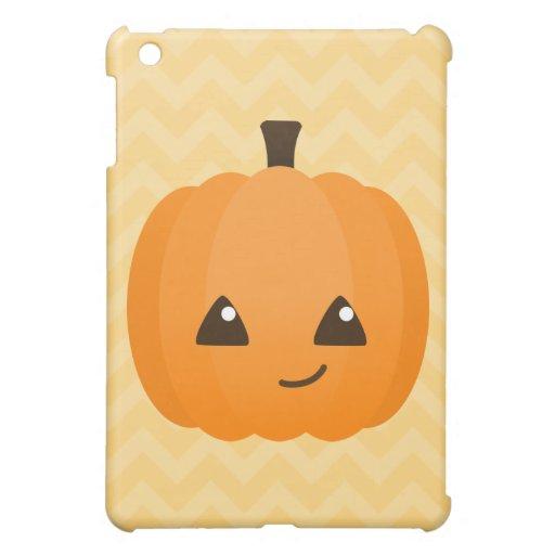 Cute Kawaii Jack o'Lantern Cover For The iPad Mini