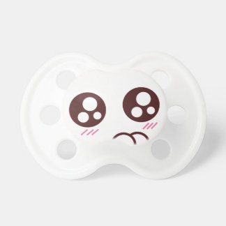 Cute kawaii kitty emoji pacifier