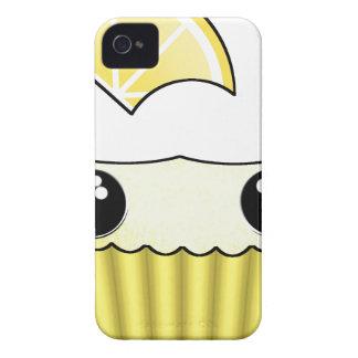 Cute Kawaii Lemon Cupcake - by Matilda Lorentsson iPhone 4 Cover