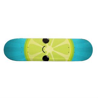 Cute Kawaii Lime Custom Skateboard