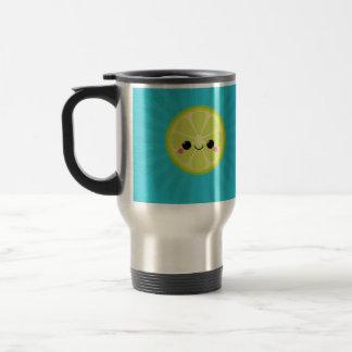 Cute Kawaii Lime Travel Mug