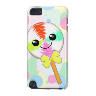Cute Kawaii Lollipop with Bow Tie iPod Touch Skin iPod Touch 5G Cover