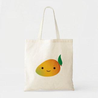 Cute Kawaii Mango Budget Tote Bag