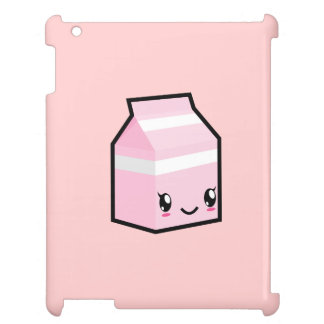 Cute Kawaii Milk Carton iPad Case