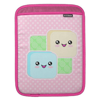 Cute Kawaii Mochi Friends Rickshaw iPad Sleeve
