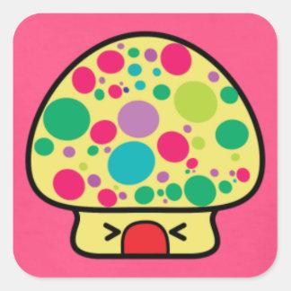 Cute Kawaii Mushroom Sticker