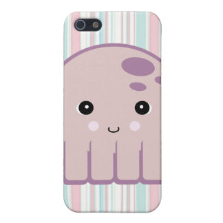 cute kawaii octopus iPhone SE/5/5s case