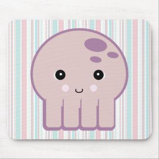 cute kawaii octopus mouse pad