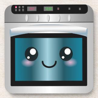 Cute Kawaii Oven - Chef & Baker Gifts Coaster