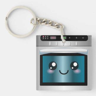 Cute Kawaii Oven - Chef & Baker Gifts Keychain