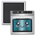 Cute Kawaii Oven - Chef & Baker Gifts Fridge Magnet