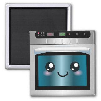 Cute Kawaii Oven - Chef & Baker Gifts Magnet