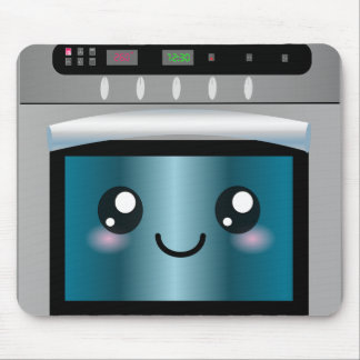 Cute Kawaii Oven - Chef & Baker Gifts Mouse Pad