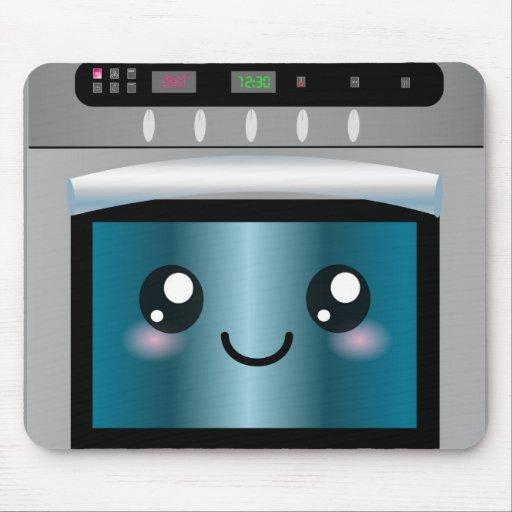Cute Kawaii Oven - Chef & Baker Gifts Mousepad