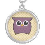 Cute Kawaii Owl Necklace