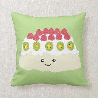 Cute Kawaii Pavlova Throw Pillow