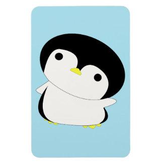 Cute Kawaii Penguin Says Hi Flexi Magnet
