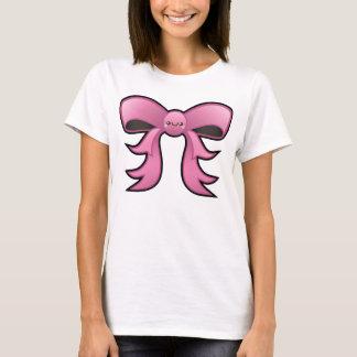 Cute Kawaii Pink Bow T shirt