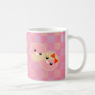 Cute Kawaii Pink Frosted Cookies Coffee Mug