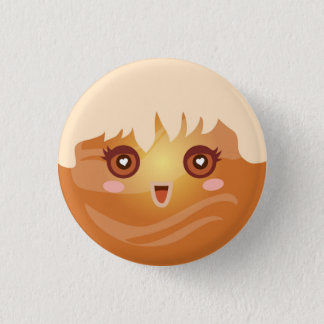 Cute Kawaii Planet Venus Character Button