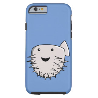 Cute Kawaii Puffer Fish Tough iPhone 6 Case