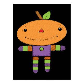 Cute kawaii Pumpkin Postcards